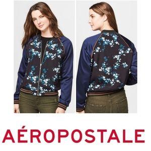 Aeropostale | Floral Bomber Jacket
